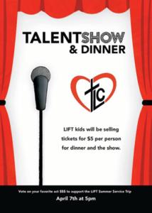 Talent Show & Dinner