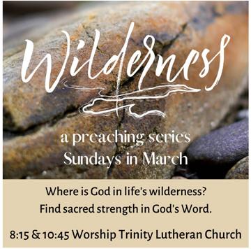 Wilderness - Lent 2020