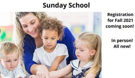 Sunday School 2021