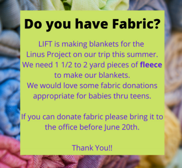 Do you have fabric?