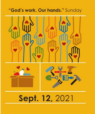 Rally Day Sept. 12, 2021