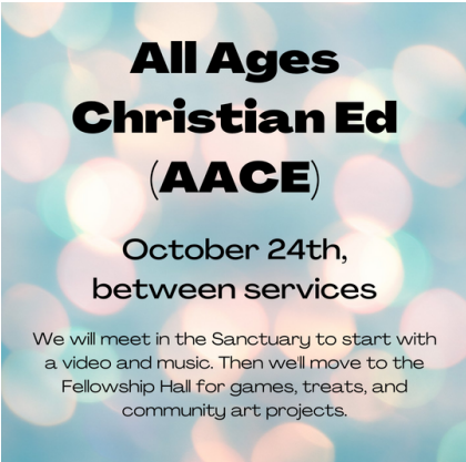 AACE - All Ages Christian Ed